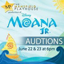 Moana Jr. auditions
