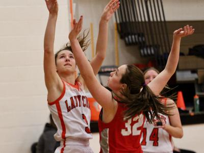 Lucas roughs up Plymouth in girls' sectional opener