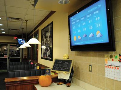 Digital signage software serves as engagement tool for restaurants with their customers