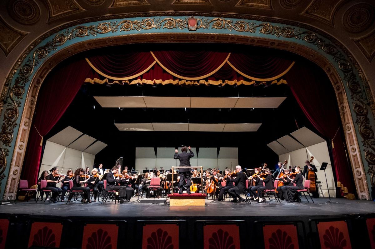 Mansfield Symphony Orchestra in concert