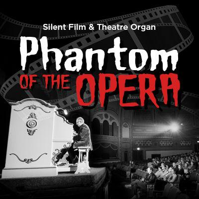 "Silent film ""Phantom"" with theatre organ to be performed at the Ren"