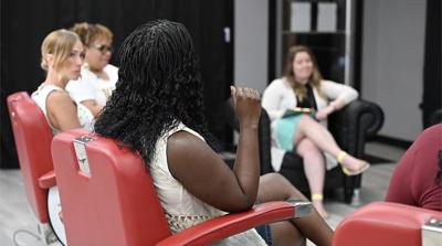 Shop Talk explores emotions of race, femininity and motherhood