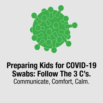Preparing kids for COVID-19 swabs