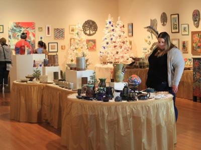 Mansfield Art Center's Holiday Fair boosts Ohio artists in a challenging year