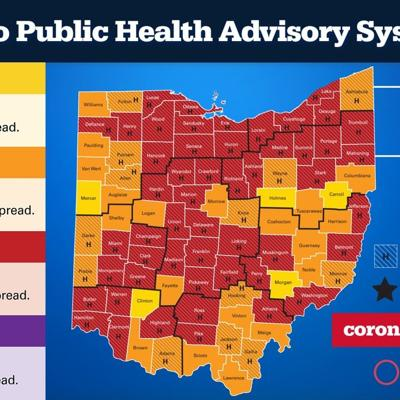 DeWine says Ohio COVID-19 cases, hospitalizations headed in wrong direction