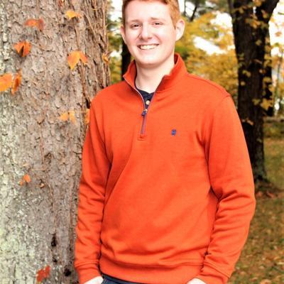 Lexington High School 2021 Graduate: Aiden Edward Nicholas Kuenkele