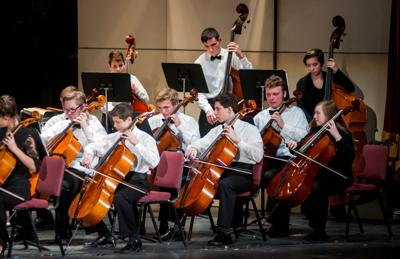 Mansfield Symphony Youth Orchestra Holiday Prelude
