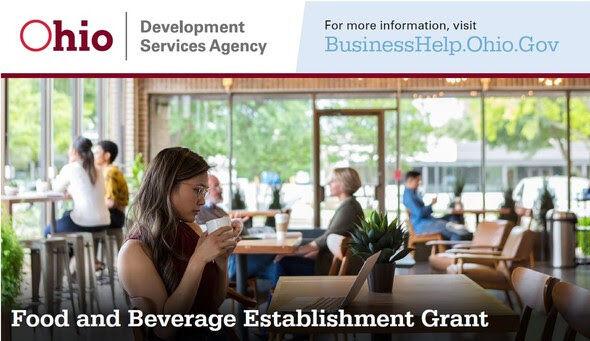 Food and Beverage establishment grant