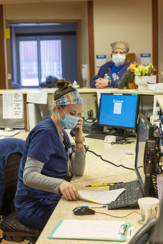Mansfield Hospital nurses