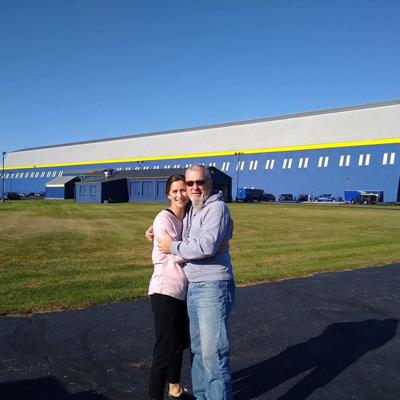 Ashland couple gets engaged inside Goodyear Blimp