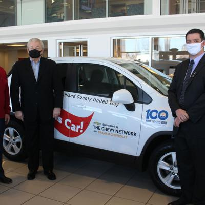 """United Way & Graham Chevrolet partner for """"Win a Chevy Trax"""" fundraiser"""