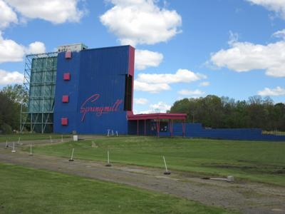 Springmill Drive-In Theater opens for 2021 season on May 14