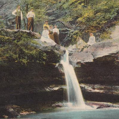 The Sunshine Club visits Fleming Falls in 1913