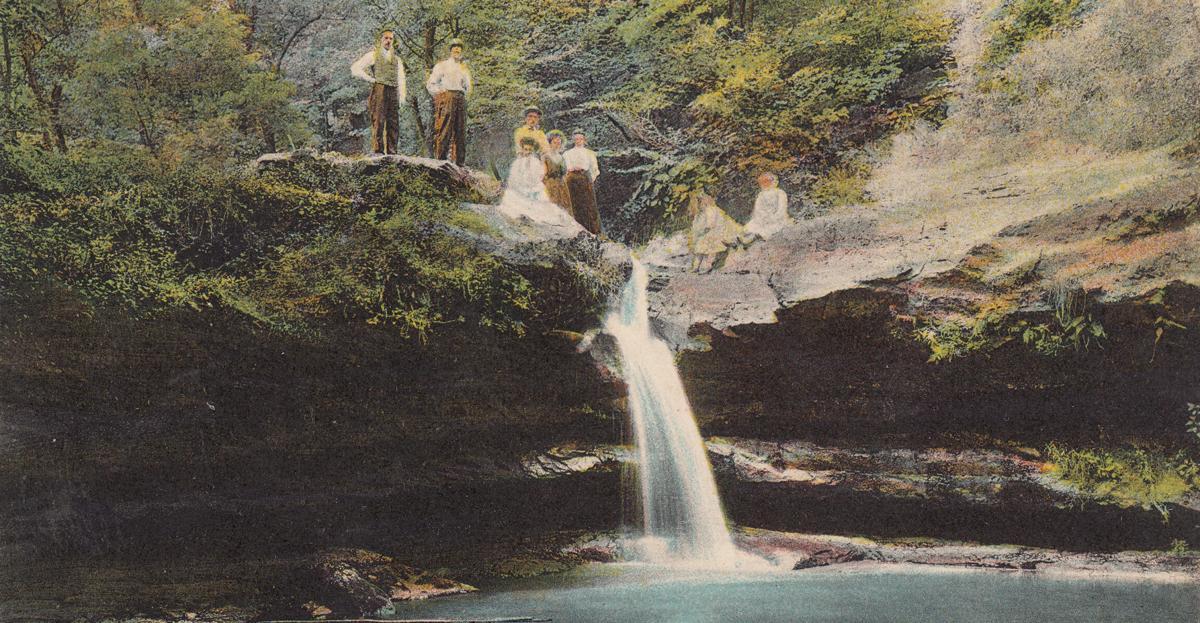 Fleming Falls in 1913
