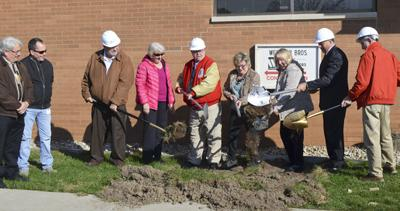 Richland Public Health groundbreaking