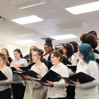 Choral Countdown to Christmas 2019: Mansfield Senior High School