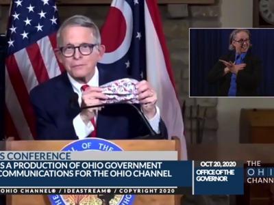 DeWine: COVID-19 spread threatens in-person learning in Ohio