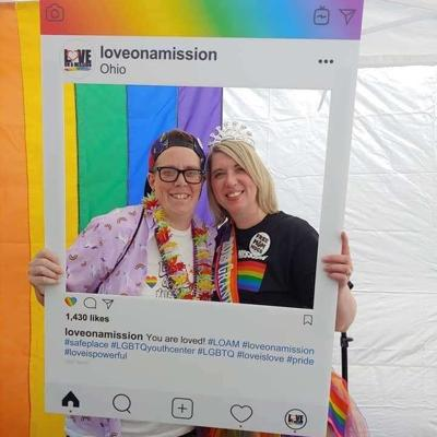 Love on a Mission volunteer gives today's LGBTQ youth the support she once longed for