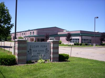 Clear Fork high school middle school building