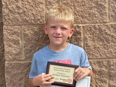 Galion Primary School student and staff members receive regional awards