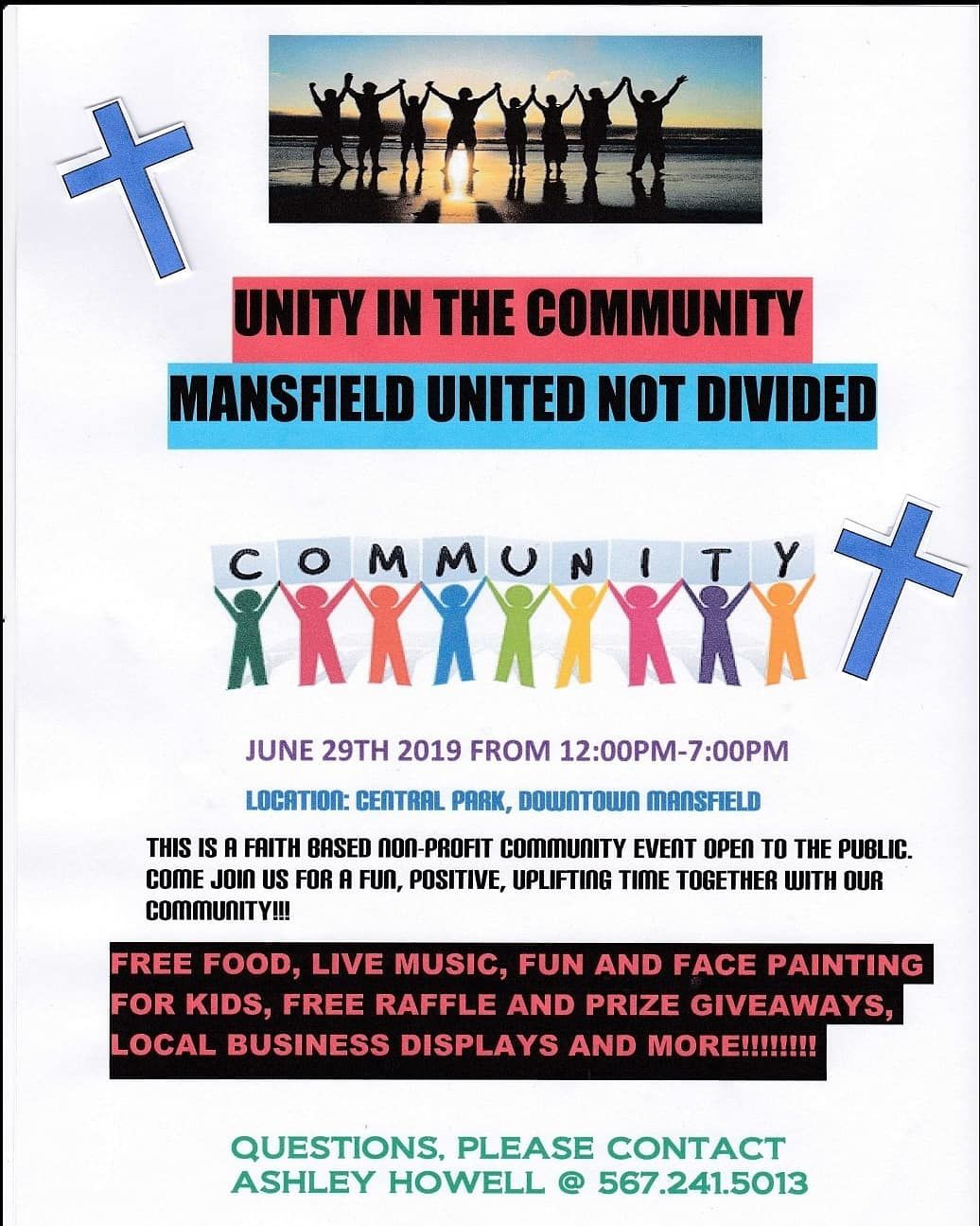 Unity in the Community event set for June 29 in Mansfield