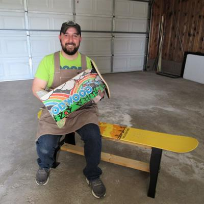 Mansfield entrepreneur turns recycled materials into distinctive goods