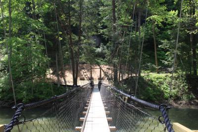 New swing bridge