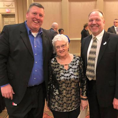 MOESC board member Dixon honored