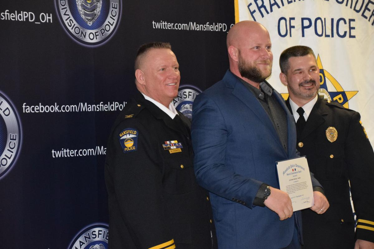 Mansfield Police Department honors officers | News | richlandsource com