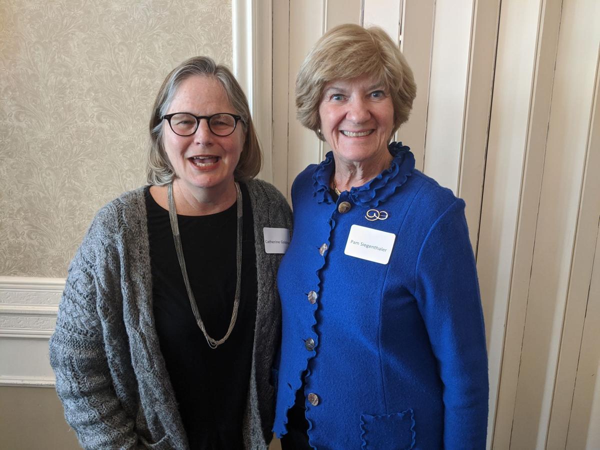 Pam Siegenthaler and Catherine Goldman
