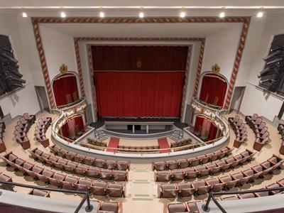 Ohio Theatre was the site of police chief's death in 1930