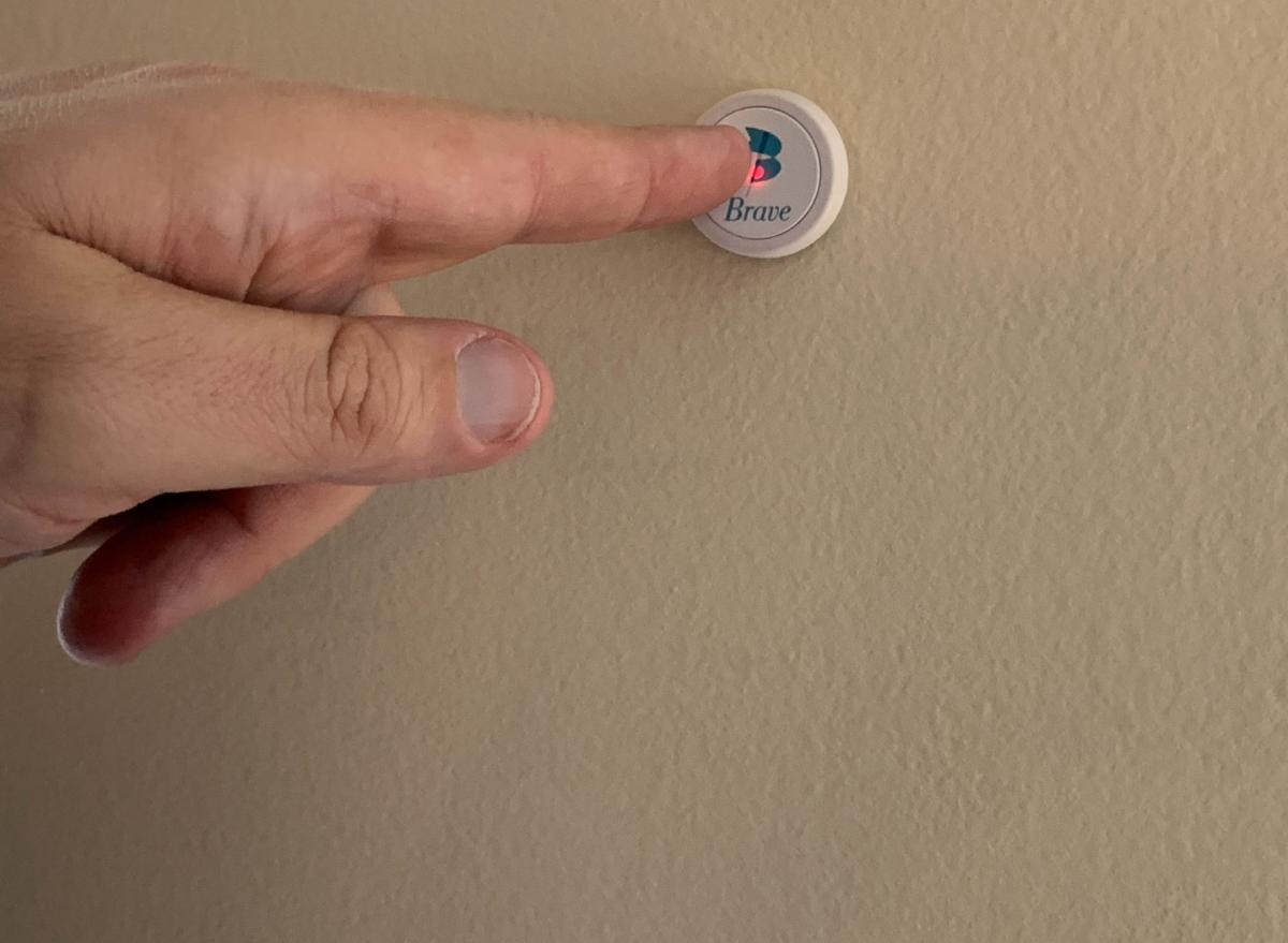 The Brave Button