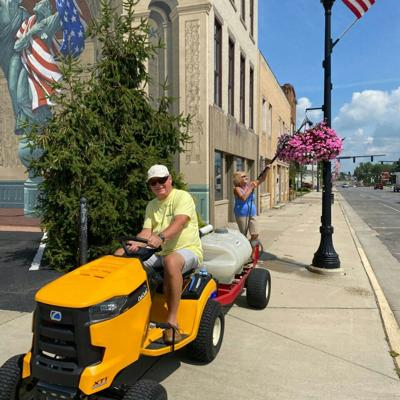 Donations fuel Bucyrus beautification project