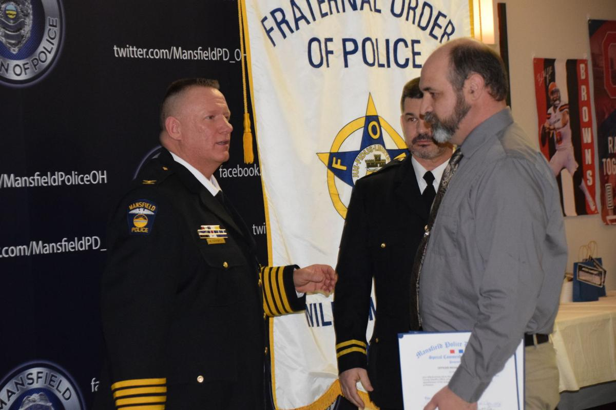Mansfield Police Department honors officers   News   richlandsource com