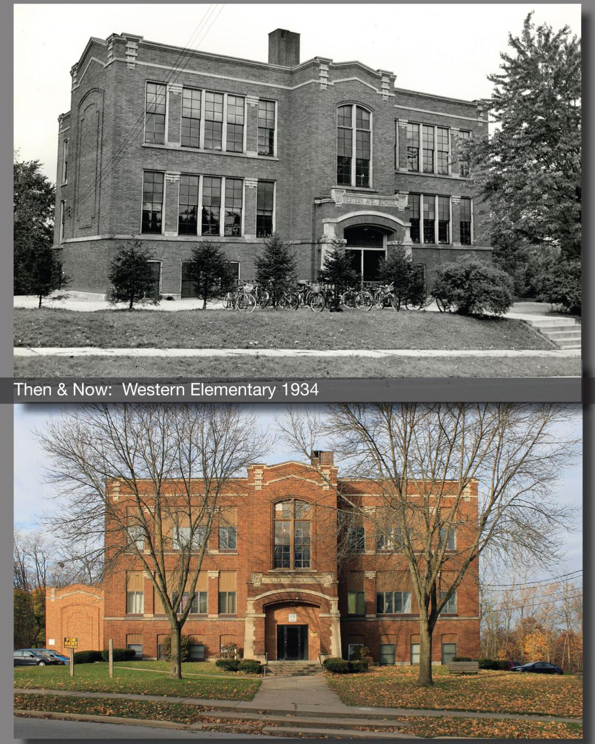 Then & Now: Western Elementary School 1934