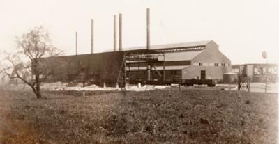 Then & Now: The steel mill 1924