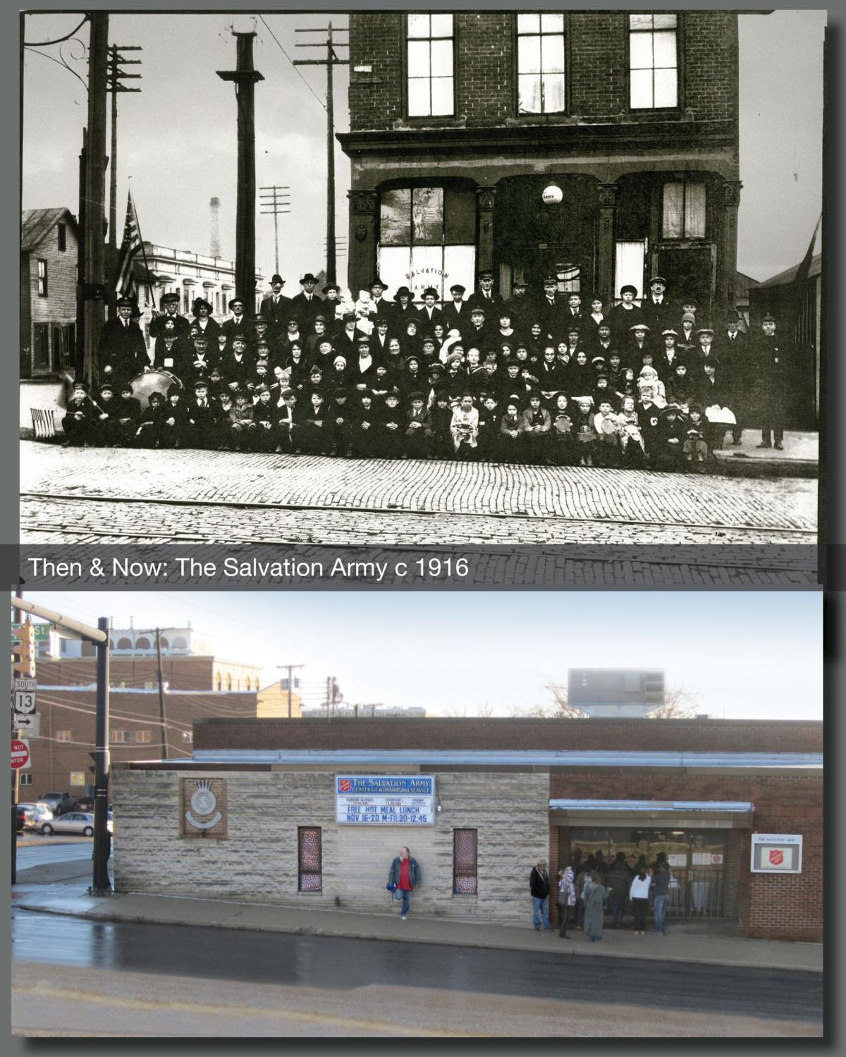 Then & Now: Salvation Army