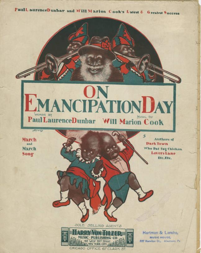 Emancipation Day sheet music