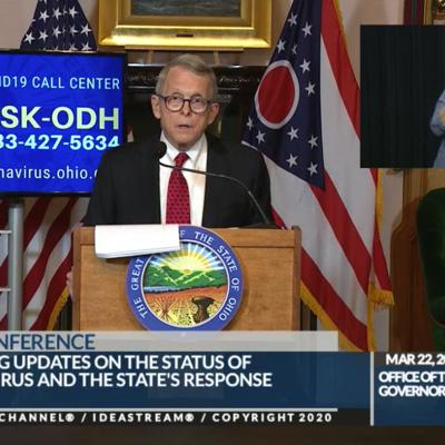 Ohio enacts 'stay-at-home' order to fight spread of COVID-19