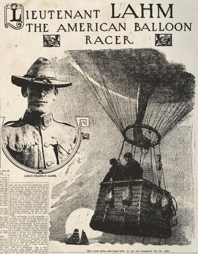 Lahm in the Washington Post 1911