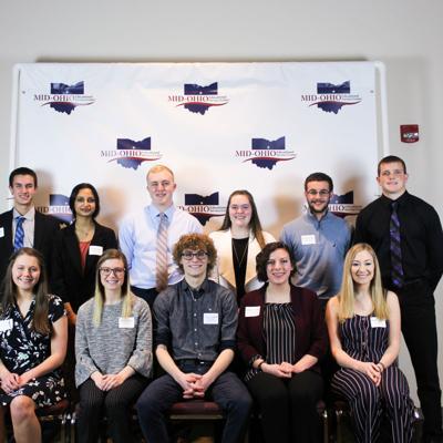 Area scholars honored at Franklin B. Walter scholarship program