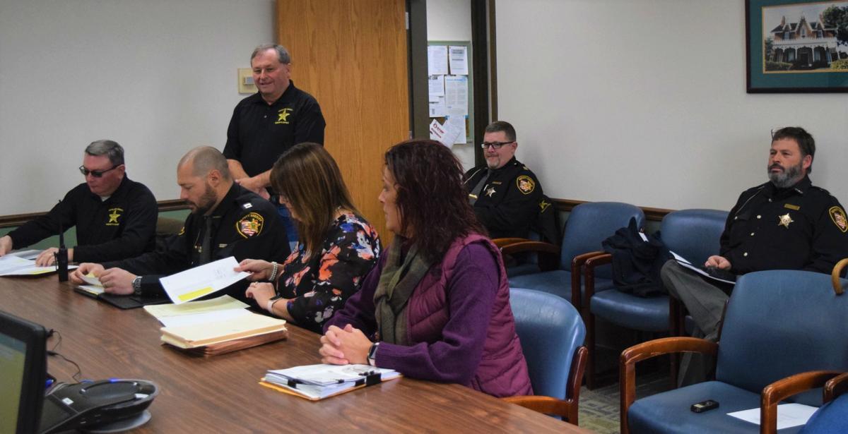 Sheriff budget meeting