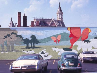 Painting on the walls: Murals of downtown Mansfield since 1880