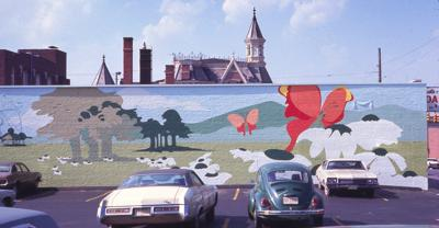 Murals in downtown Mansfield