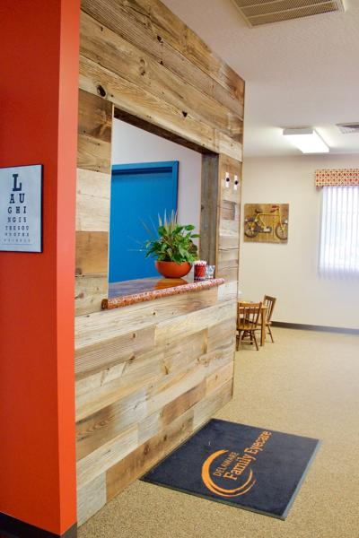 Reclaimed barn siding is the future of interior design
