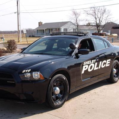 Shelby police cruiser