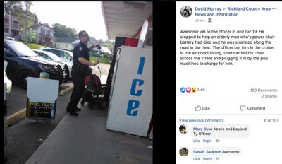 Cops do good