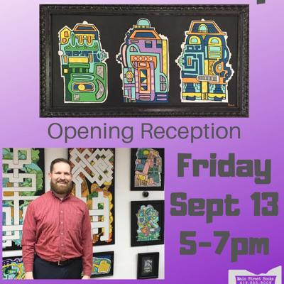 Reception for Butler artist slated for Sept. 13 at Main Street Books in Mansfield