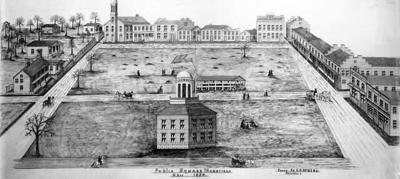 Mansfield Public Square 1830