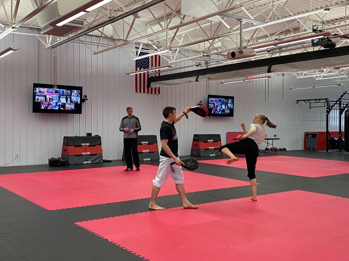 Black Belt mat